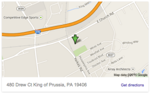 King of Prussia Parts Store