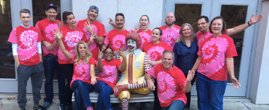 Tozour Energy Systems volunteers at Ronald McDonald House